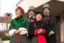 Christmas Carols / The Original Dickens Carolers love to sing Christmas Carolers.  What's YOUR favorite Christmas Carol?