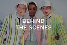Behind the Scenes at Moncler Gamme Bleu SS16 / On Sunday, June 21st Moncler presented the Gamme Bleu Spring-Summer 2016 Collection designed by Thom Browne. We bring you on the backstage of the show.  ‪#‎monclergammebleu‬ ‪#‎ss16‬ / by Moncler