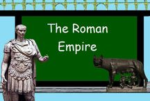 Ancient Roman Empire / The Roman Empire including the Punic Wars / by Skool Aid Products