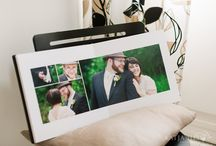 Wedding Album inspiration / Covers and setting out ideas