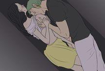 Robin x Zoro