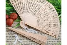 Elegant Silk Fans Favors / Elegant silk fans for the summer outdoor weddings. http://discountweddingfavors.com/47-fans-wedding-favors / by Laura Scott