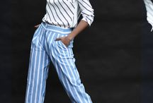 Stripes Everyday, All Day / apparel and garment stripes, style and sewing inspiration