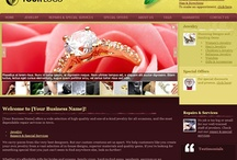 Websites: Jewelry Stores / Professional Websites for Jewelry Stores. Web Start Today helps you create a great impression on your prospects and customers with professional websites designed specifically for Jewelry Stores. Our easy to use Website Builder allows you to build a well-constructed, effective online presence in no time at all. / by Web Start Today, Inc.
