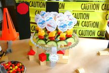 Constrution party's for kayden / Kayden 2nd Bkirthday / by Nancy Abston Rodriguez