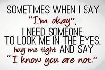 I am not okey!