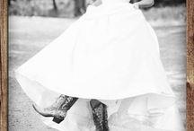 Western Wedding Chic / Cowboy Boot Bride