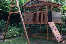 Kletterturm/Gartenspiele