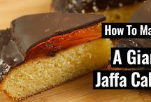 Jaffa cake recipe
