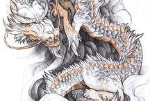 Drachentattoos