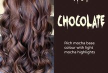 hot chocolate hair