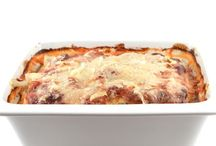 Lasagne / Lasagne zonder deeg