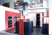 Miele / DNS Industries manufactured store displays and fixtures.