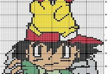 Cross stitch - pokemons