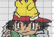 Cross stitch - pokemons