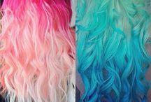 mooie haar kleuren