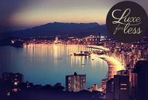 Luxe for Less-Benidorm / Whether you want to spend your days lounging on the sandy beaches or see a Las Vegas inspired show and hit the clubs on a famous Benidorm bar crawl, this Spanish town has everything party loving hens could want-and a whole lot more!