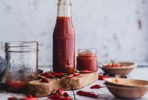 Food styling: Sauce
