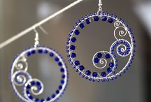 Beading, Wire, & Jewelry / Wire wrapping, beading, jewelry, tutorials and inspiration / by Shawna Jones
