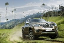 Renault ALASKAN / Renault takes the wraps off ALASKAN, a one-tonne pick-up that takes a completely fresh approach to the pickup segment, including a stunning look that incorporates an imposing front-end. Both robust and comfortable, ALASKAN delivers exceptional driving comfort.