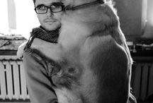 I love my animals / People that love his animals