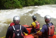 Water Rafting / A refreshing adventure trip with your friends or family, to engage in a variety of water sports.