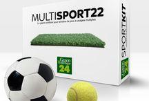 Gazon Synthétique Sportif / Notre collection Sport est un véritable choix de professionnel, c'est en effet le meilleur gazon synthétique du marché pour ce qui est de la pose de votre terrain de jeu, réduisant de 90% les frais d'installation et d'entretien.