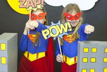 Superhero Ideas / Super Hero Ideas for 2014-15 building theme / by Addie Gaines