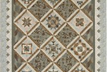 Taupe/Japanese quilts