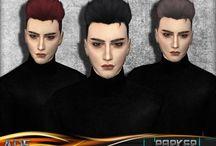 Sims 4 - Male Hair