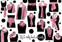 What to wear: Scarfs / #What to wear #What to but #Scarfs #Summer #Winter #Accessories #Pairing #Folding scarfs #Ideas