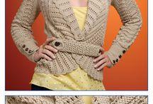 casacos de trico fetros a mão / trico