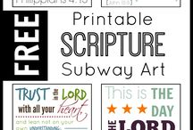 Ponderize / Inspired by the lads conference talk to learn a new scripture every week.