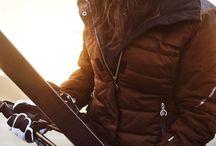 мода лыжи