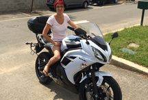 Girls en motos