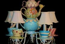 Ideas for craft bomb .. Alice in wonderland theme.