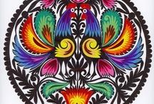 Colour, Etno, Wycinanki