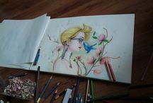 my drawing / my art