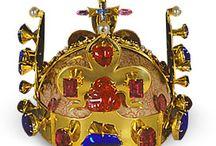 královské koruny a tiary ( royal crown's)