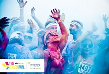 The Color Run with Medihelp - Fun. Fit. Healthy / The Color Run is a five-kilometre, un-timed race where runners are doused from head to toe in different colors at each kilometre. Medihelp will be a part of twelve Color Run races countrywide including Cape Town, Stellenbosch, Grahamstown, Port Elizabeth, Durban, Pietermaritzburg, Bloemfontein, Potchefstroom, Johannesburg, Pretoria, Polokwane and Nelspruit.