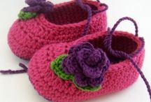Crochet booties / by Leslie Laubman-Marchant