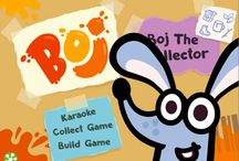 Boj-a-Boom / Appbooks created for the Boj TV series shown worldwide from September 2014