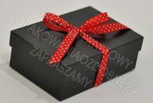 Prezent / Ręcznie wykonane ekskluzywne pudełko na prezent.