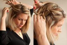 Hair styles / Hair styles for daily wear