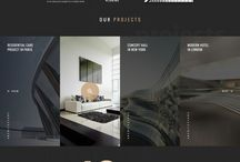 Web Design Inspiration / Inspiration for future web design projects.