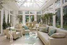 Conservatory furnishing ideas