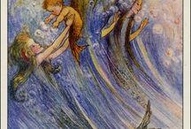 Fairies, mermaids and imagination we love