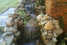 Water Features: Waterfalls and Fountains