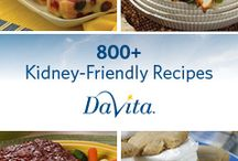 Kidney care recipes