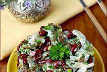 салат с бобовыми